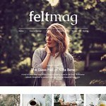 Felt Wordpress Theme
