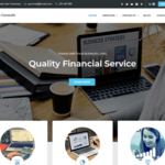 Finance Consultr Wordpress Theme