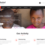 FinRelief WordPress Theme
