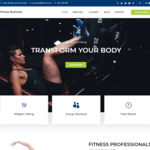 Fitness Business Wordpress Theme