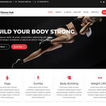 Fitness Hub Wordpress Theme