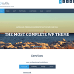 FlatOn Wordpress Theme