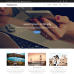 Flex Business Wordpress Theme
