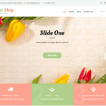 Flower Shop Lite Wordpress Theme
