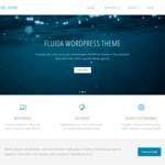 Fluida Wordpress Theme