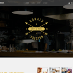 Food Business Wordpress Theme
