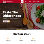 Food Restro Wordpress Theme
