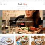 Foodie Diary WordPress Theme