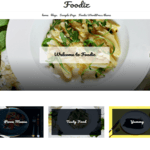 Foodiz WordPress Theme