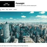 Foresight WordPress Theme