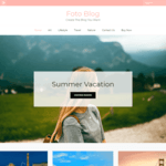 Foto Blog Wordpress Theme