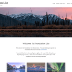 Foundation Lite WordPress Theme
