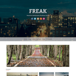 Freak WordPress Theme