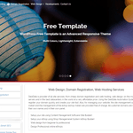Free Template Wordpress Theme