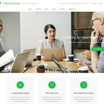 Freesia Business Wordpress Theme