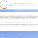 Frugix WordPress Theme