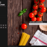 Full Page Wordpress Theme
