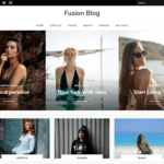 Fusion Blog Wordpress Theme