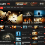 Gaming Mag Wordpress Theme