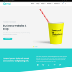 Genui WordPress Theme