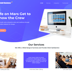 Geschaft Business WordPress Theme