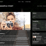 Ghost Lite WordPress Theme