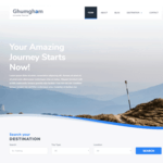 Ghumgham Wordpress Theme