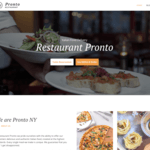 GloriaFood Restaurant Wordpress Theme