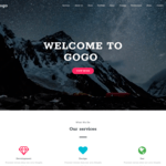 Gogo Wordpress Theme