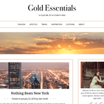 Gold Essentials Wordpress Theme