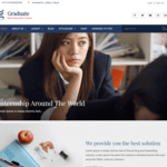 Graduate Wordpress Theme