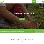 Green Eco Planet WordPress Theme