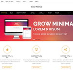 Grow Minimal Wordpress Theme