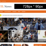 GTL News WordPress Theme