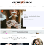 GuCherry Blog Wordpress Theme