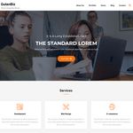 Gutenbiz WordPress Theme