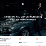GutenBooster WordPress Theme