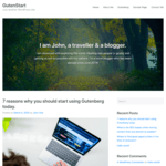 GutenStart WordPress Theme