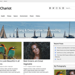 GW Chariot Wordpress Theme