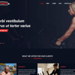 Gym Master Wordpress Theme