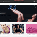 Gymzone Fitness WordPress Theme