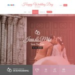 Happy Wedding Day WordPress Theme