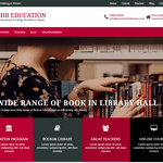 HB Education Wordpress Theme