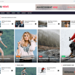 Heading News Wordpress Theme