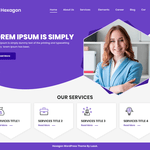 Hexagon Wordpress Theme