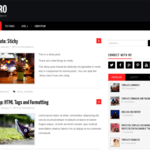Hiero Wordpress Theme