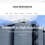 High Responsive Wordpress Theme