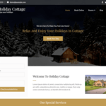 Holiday Cottage WordPress Theme