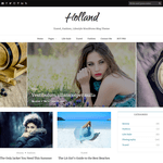 Holland Wordpress Theme