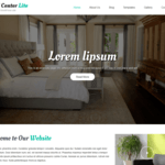 Hotel Center Lite Wordpress Theme